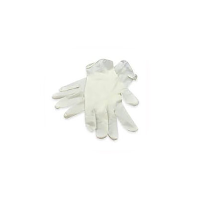 White Latex Gloves
